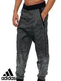 Men's Adidas 'ZNE Pulse Knit' Pant (BQ4840) x7 (Option 1): £18.95